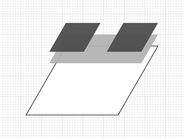 背景のレイヤー構造